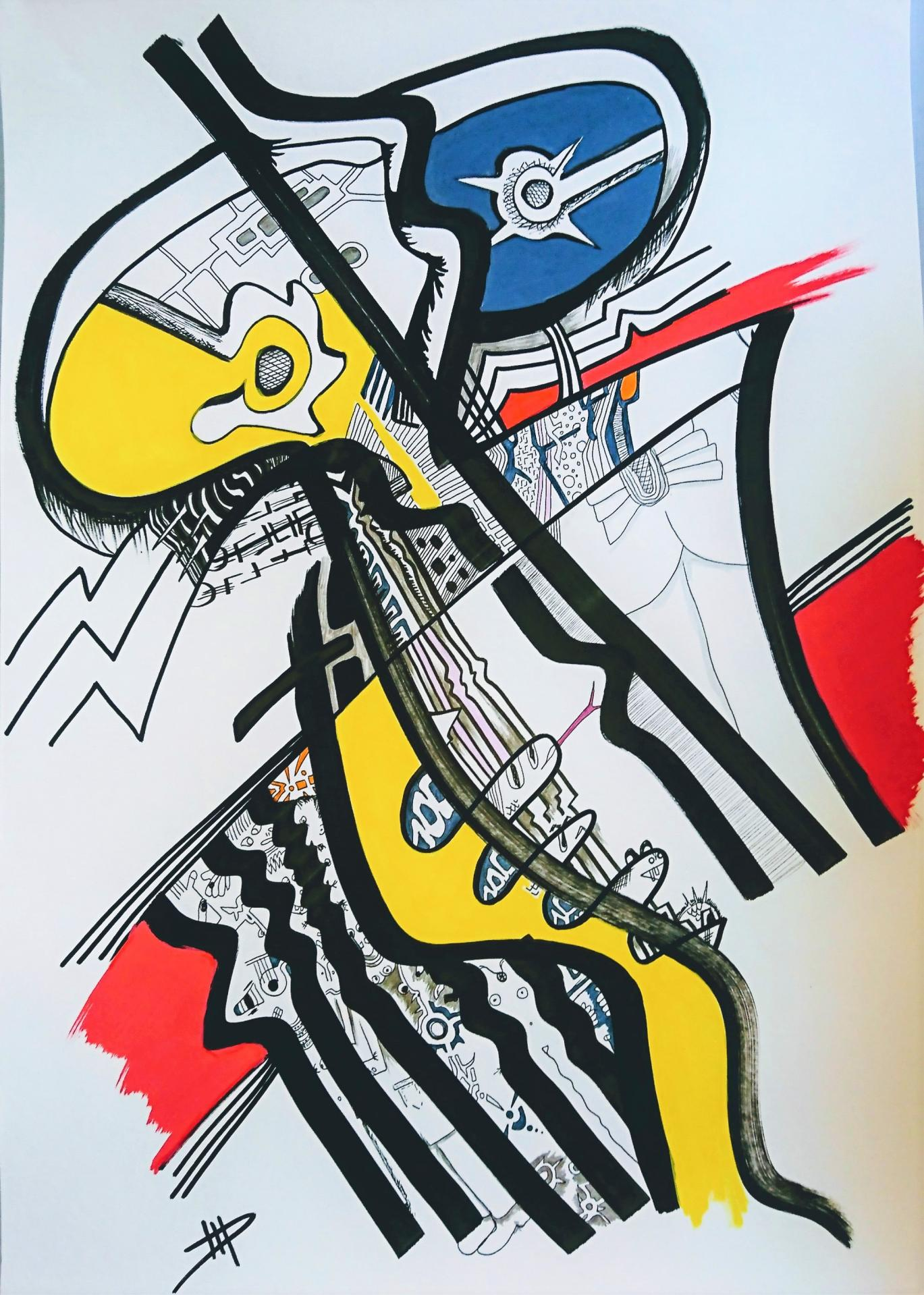 Pompidou's radioactive grandchildrens