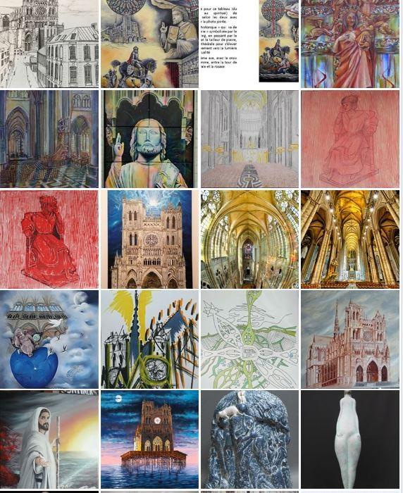 Expo 800ans - Amis des arts de la Somme -virtuelle-