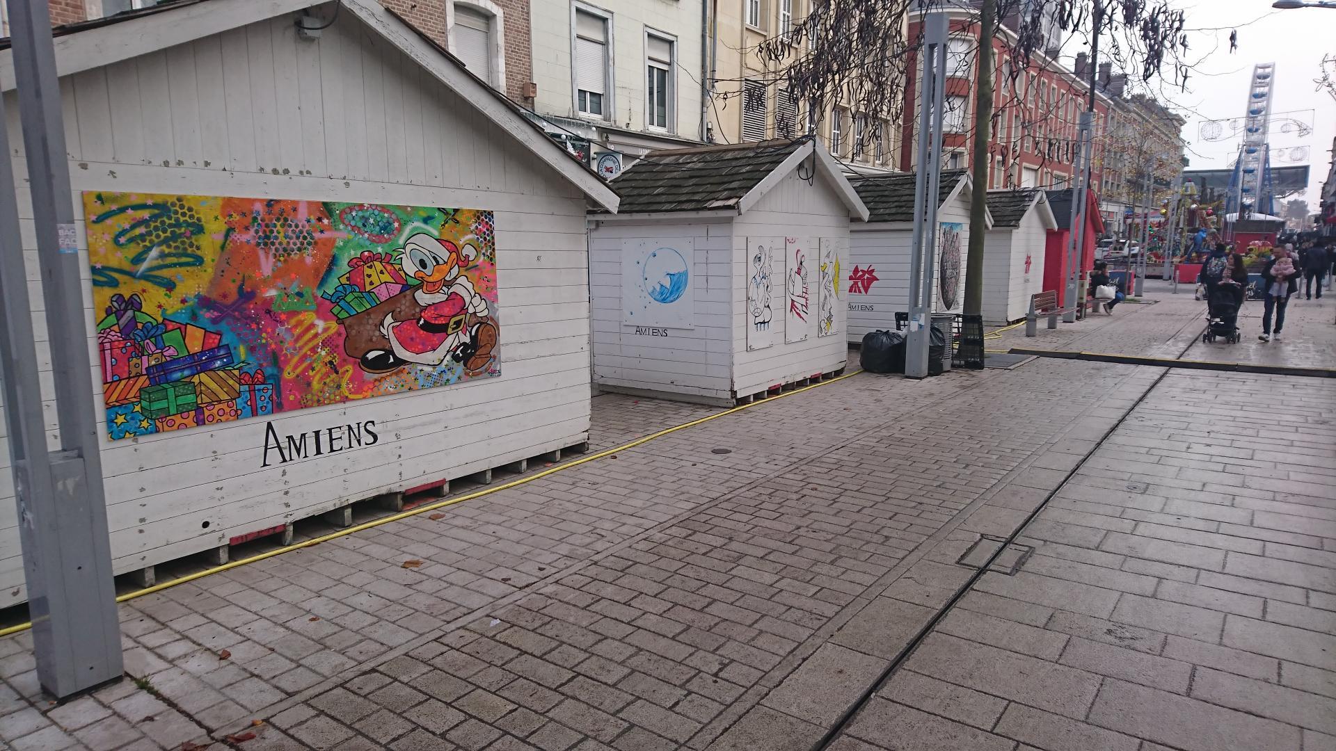 de l'art dans la rue